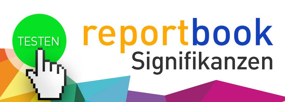 Dynamischer Signifikanztest im Analyzer Dashboard www,reportbook.de