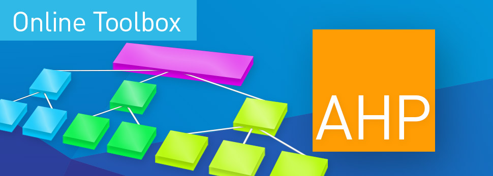 DIY Tools für die Marktforschung - IfaD Statistics Toolbox: - www.ifad.de - AHP