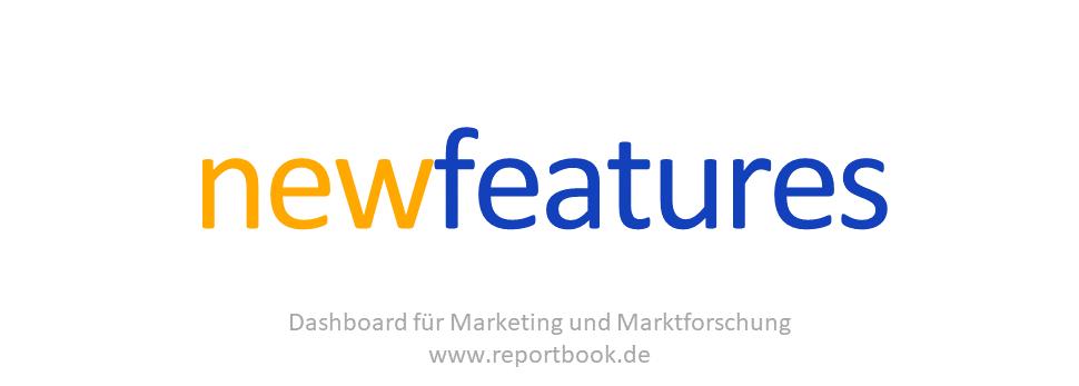 Bestes vom Dashbaord reportbook für Marketing und Marktforschung