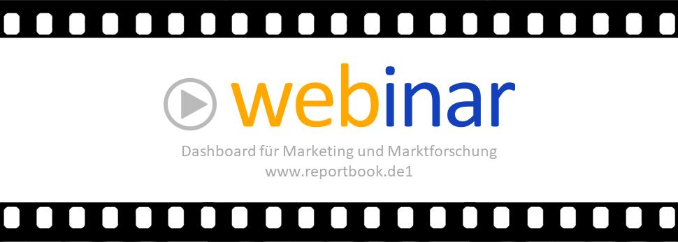 Bestes vom Dashboard reportbook.de für Marketing und Marktforschung - Webinar September 2018 Peter Sonneck www,marktforschung.de www.ifad.de